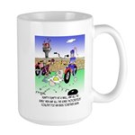 All The King's Motorcycles Large Mug