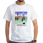 All The King's Motorcycles White T-Shirt