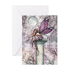 The Lookout Fairy Fantasy Art Greeting Card