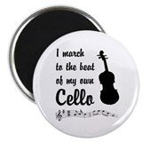 March to the Beat: Cello Magnet