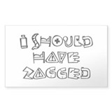 Zigged Decal