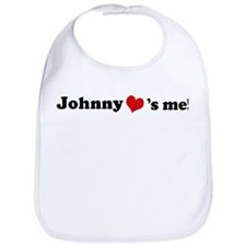 Johnny loves me Bib