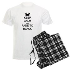 Keep Calm Fade to Black Pajamas