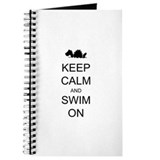 Keep Calm and Swim On Sea Monster Journal