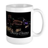 Christmas Lights Train Mug