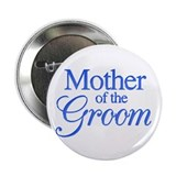 Mother of the Groom (blue) Button