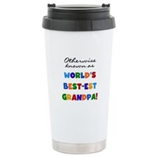 Otherwise Known Best Grandpa Ceramic Travel Mug