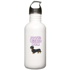 Proud Wiener Mom Water Bottle