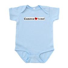 Camren loves me Infant Creeper