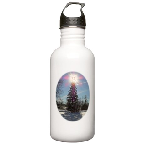 Christmas Peace Stainless Water Bottle 1.0L