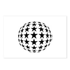 Stars Mirror Ball Postcards (Package of 8)