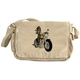 Biker Elf Messenger Bag