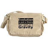 Evolution Is A Theory Like Gravity Messenger Bag