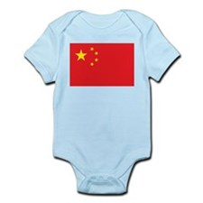 China Flag Infant Creeper