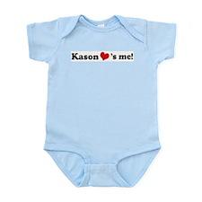 Kason loves me Infant Creeper