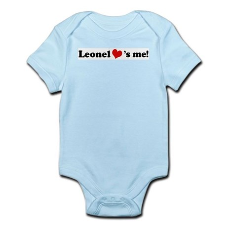 Leonel loves me Infant Creeper