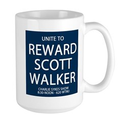 Reward Scott Walker Large Mug