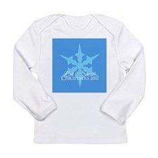 Let it Snow! Classic Christma Long Sleeve Infant T