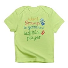 Kids Future Badminton Player Infant T-Shirt