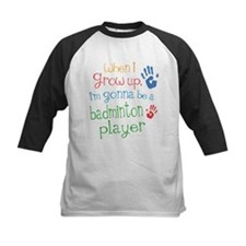 Kids Future Badminton Player Tee