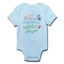 Kids Future Badminton Player Infant Bodysuit