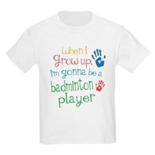 Kids Future Badminton Player T-Shirt