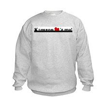 Kamron loves me Sweatshirt