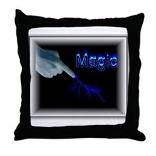 its magic Throw Pillow