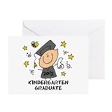 Cute Boy Kindergarten Grad 2012 Greeting Cards (Pk