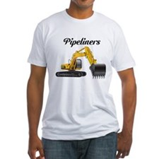 """Pipeliner on front """"Diggin' Ditches Pimpin' Bitche"""