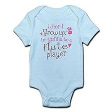 Kids Future Flute Player Infant Bodysuit