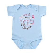 Kids Future Flute Player Infant Bodysuit