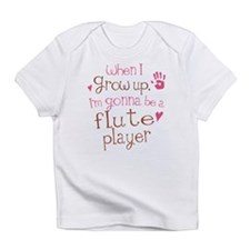Kids Future Flute Player Infant T-Shirt