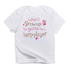 Kids Future Harp Player Infant T-Shirt