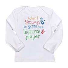 Kids Future Lacrosse Player Long Sleeve Infant T-S