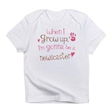 Kids Future Newscaster Infant T-Shirt