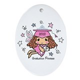 Graduation Princess 2012 Ornament (Oval)