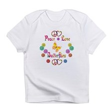 Peace Love Butterflies Infant T-Shirt