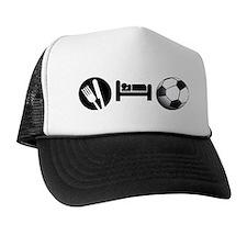 Eat Sleep Soccer Trucker Hat