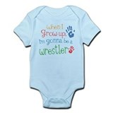 Kids Future Wrestler Infant Bodysuit