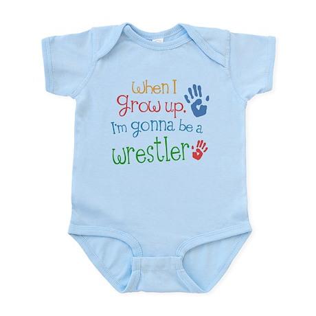 Kids Future Wrestler Infant Bodysuit