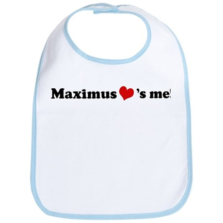 Maximus loves me Bib