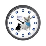 Personalized Animal Hospital Wall Clock