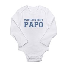 World's Best Papo Long Sleeve Infant Bodysuit