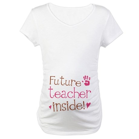 Cute Teacher Maternity T-Shirt