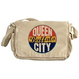 Buffalo Vintage Label Messenger Bag