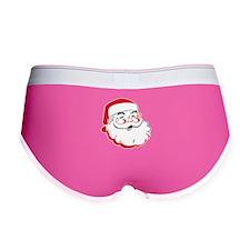 Happy Santa Face Women's Boy Brief