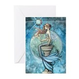 Beautiful Mermaid Greeting Cards (Pk of 20)