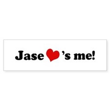 Jase loves me Bumper Bumper Sticker