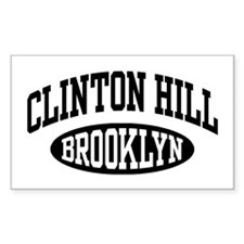 Clinton Hill Brooklyn Decal